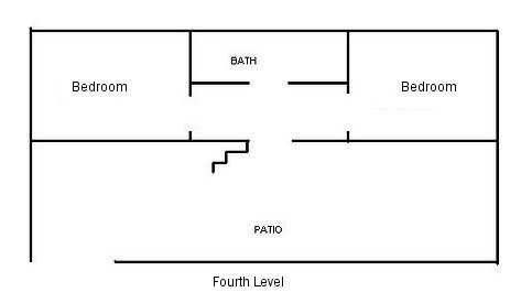 Floor Plan of the fourth level