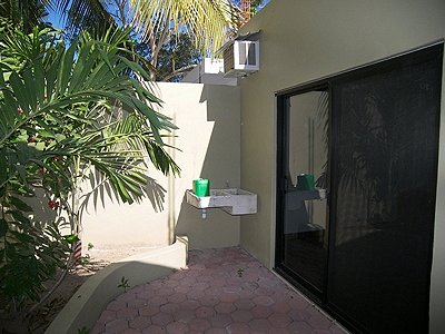 Bedroom patio