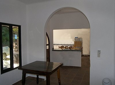 entry area